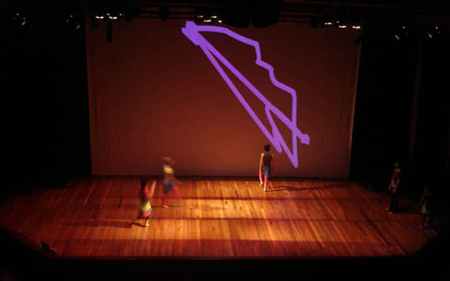 Sensa<br>{ Dance performance - interactive scenography }