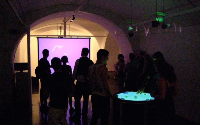 WeAreWaves<br>{ Body and Sound Installation }