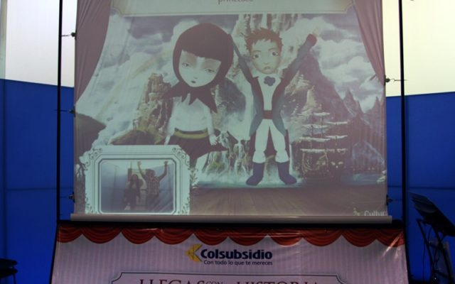Virtual Puppets Theater<br>{ Story Telling Interactive }