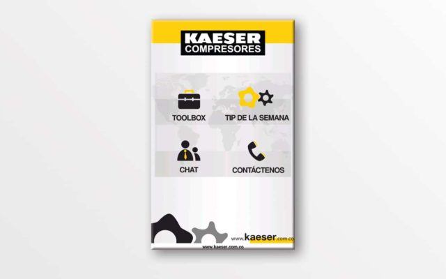 Kaeser APP<br>{ Digital Toolbox for Mobiles }