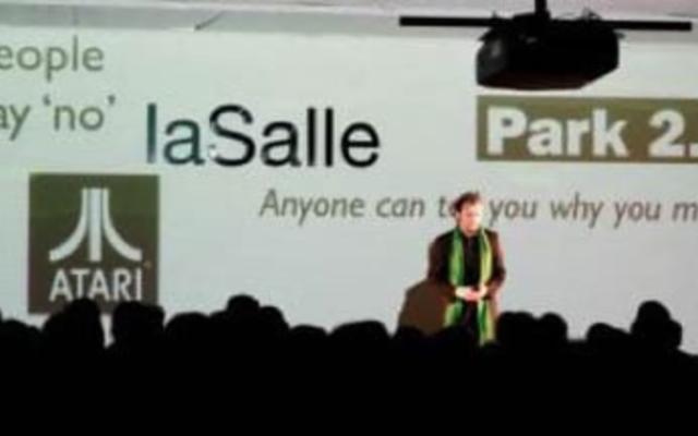 La Salle - Park 2.0<br>{ Interactive Stage - Launch event }