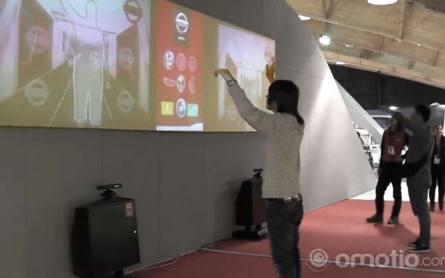 Nissan at the Car Exposhow<br>{ Interactive Experiences }