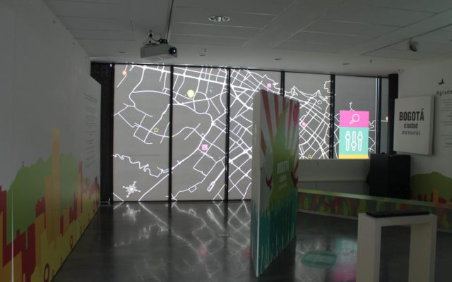 Bogota, Memory City<br>{ Body Interactive Map }